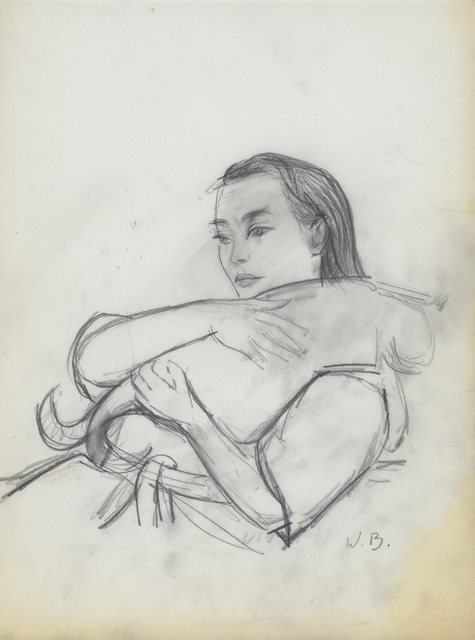 , 'Elena with Cat,' , Alexandre Gallery