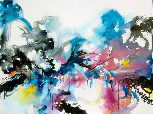 , 'Blue Release ,' , Ro2 Art