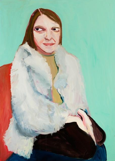 , 'Moll in a Fur Jacket,' 2016, Victoria Miro