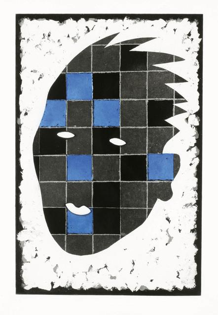 , 'New York Head Blue,' 1995, Galerie Kovacek & Zetter