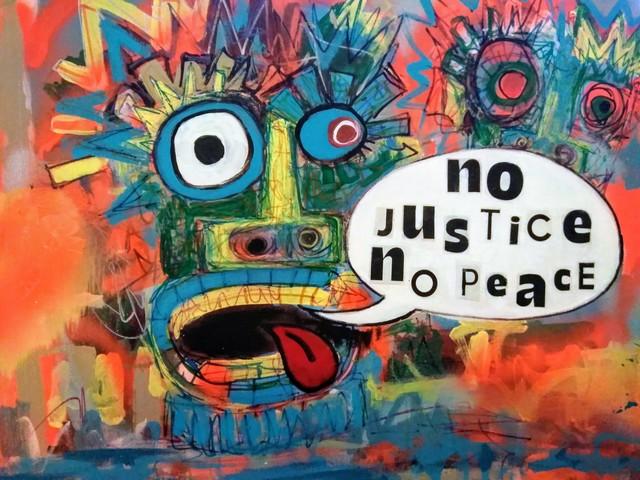 , 'No Justice No Peace,' 2018, Kuchera