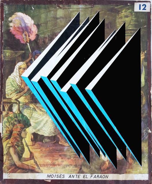 , 'Moises ante el Faraon, de la serie Transfiguraciones ,' 2016, Galería Lucia de la Puente