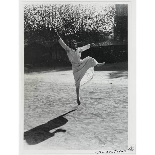 , 'Suzanne Lenglen training, Nice,' ca. 1915, Atlas Gallery