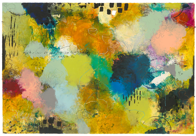 Cheryl Warrick, 'Working Theories ', 2018, Painting, Acrylic & mixed media, Dolan/Maxwell