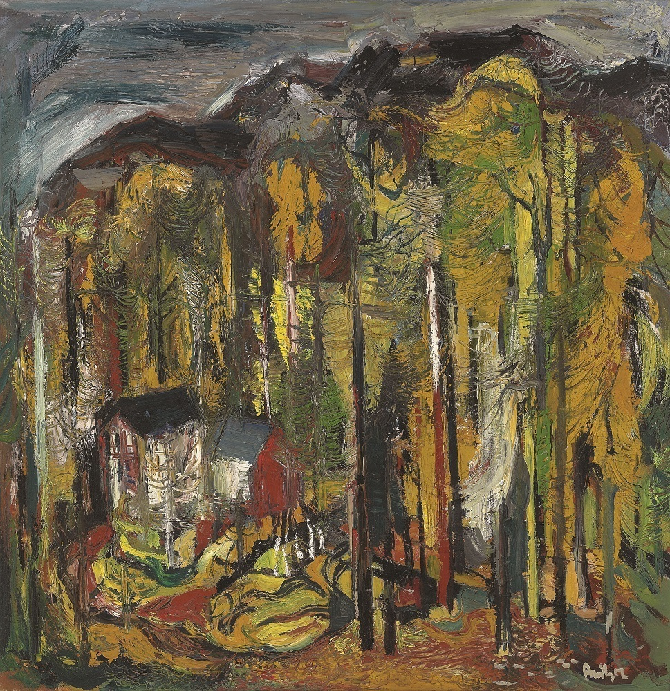 Untitled (House in the Forest)