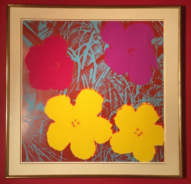 Andy Warhol, 'Flowers (II.71)', 1970, Fischtein Fine Art