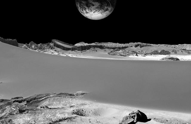 , 'moon mining,' 2016, Benrubi Gallery