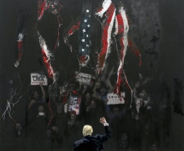 , 'American Dream 1,' 2018, Hang-Up Gallery
