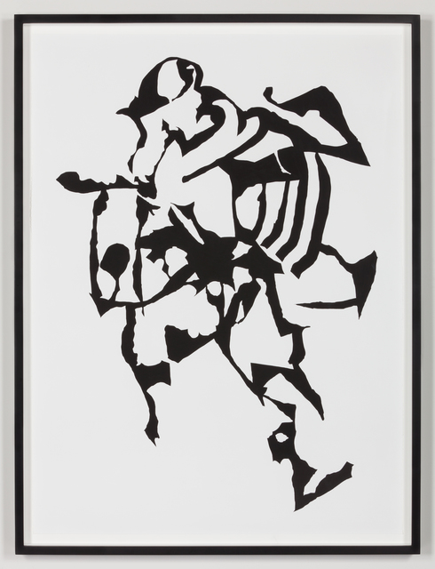 , 'Letra X,' 2013, kurimanzutto