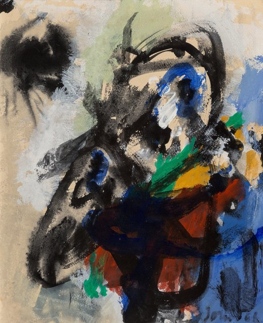 Asger Jorn, 'Depraved Eagle', 1966, Painting, Acrylic on canvas, Heritage Auctions