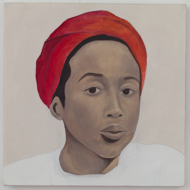 , 'Ayim (After May Ayim). Afro-German poet, educator and activist. She took her own life in 1996 at the age of 36.,' 2015, Mariane Ibrahim Gallery