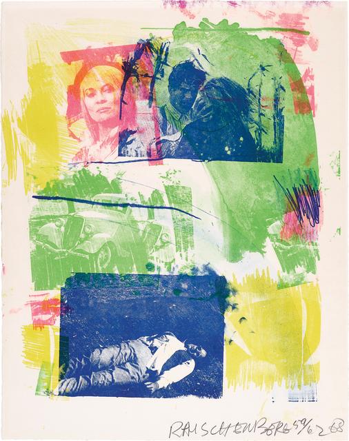 Robert Rauschenberg, 'Storyline I, from Reels (B+C)', 1968, Phillips