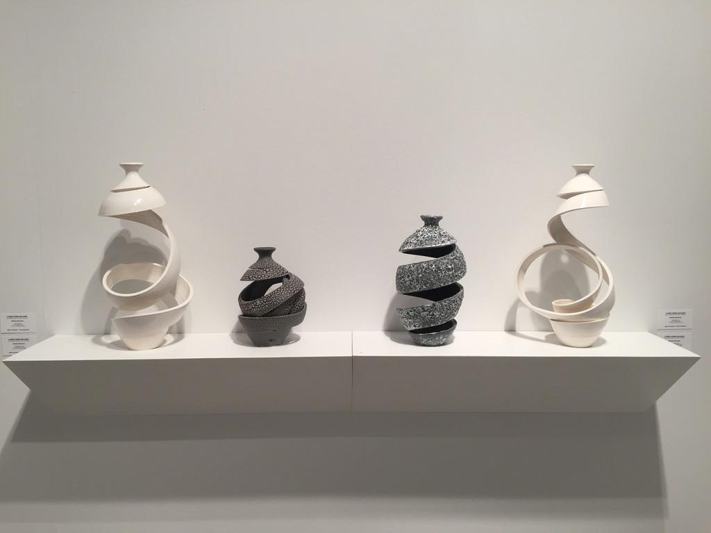 Ceramic vessels by Michael Boroniec