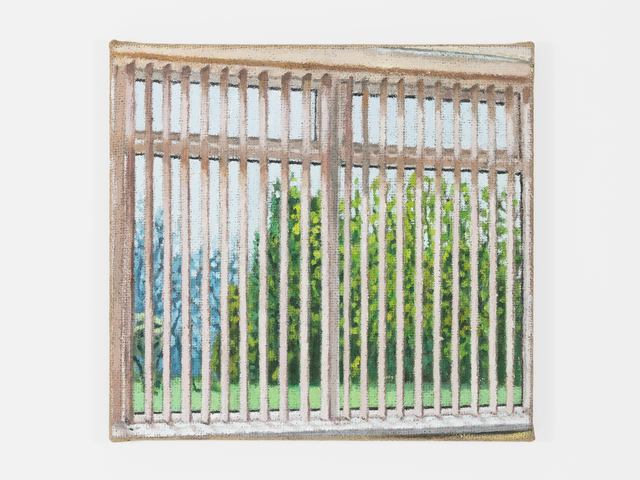, 'Blinds II,' 2018, Fisher Parrish Gallery