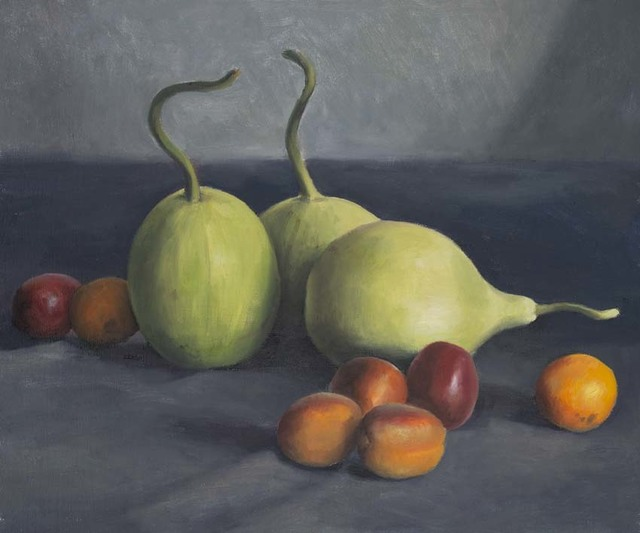 , 'Gourds and Apricots ,' 2017, OLSEN GALLERY