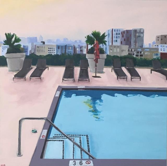 Nancy Benton, 'Rooftop Pool', 2019, JCO's Art Haus