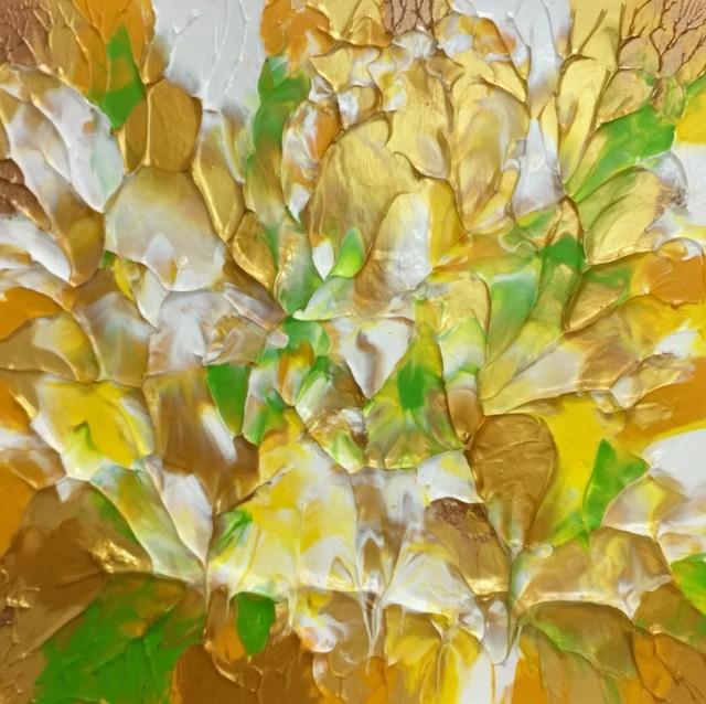 , 'Golden Flower 10-1,' 2017, POCKET FINE ARTS
