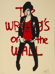 Writing on the Wall (Cream)