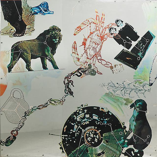 Robert Rauschenberg, 'Star Quarters III', 1971, Print, Screenprint in colors on Perspex, Rago/Wright