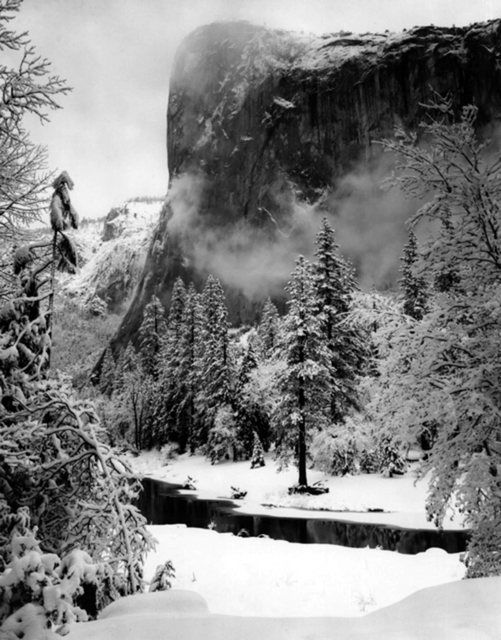Ansel Adams, 'El Capitan, Winter', 1948, Photography, Silver Gelatin Print, Weston Gallery