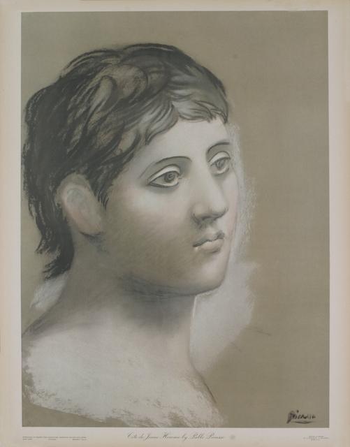 Pablo Picasso, 'Tete de Jeune Homme', 1948, Print, Pochoir, ArtWise