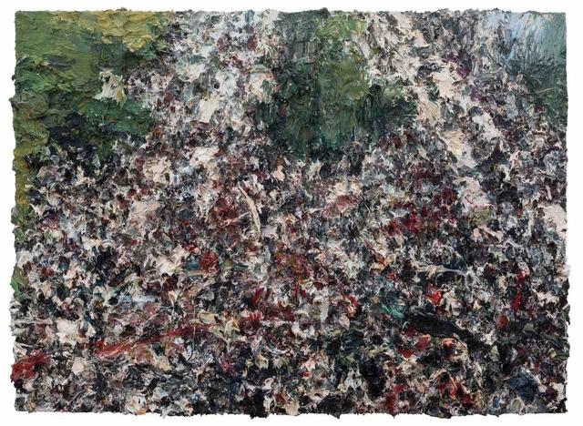 Shanchuan Lv, 'Street View', 2018, Mixed Media, Mixed Media on Canvas, Contemporary by Angela Li