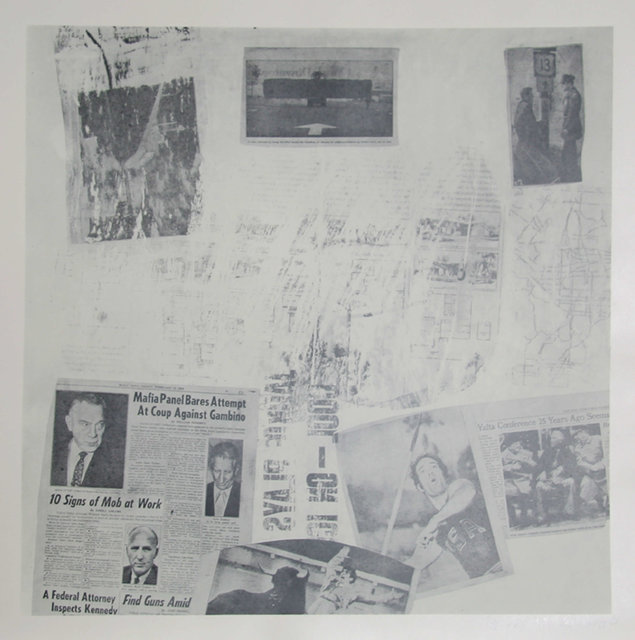Robert Rauschenberg, 'Features from Currents, #72', 1970, Heritage Auctions