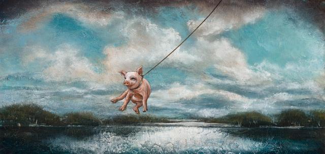, 'When Pigs Fly,' 2018, Patricia Rovzar Gallery