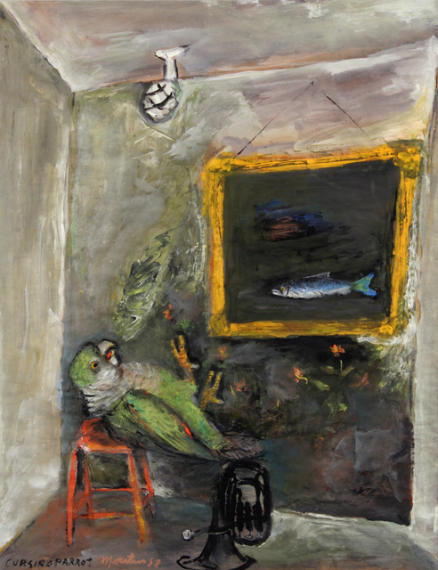 James Martin, 'Cursing Parrot', 1988, Foster/White Gallery