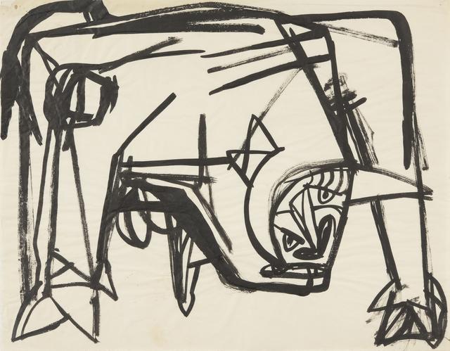 , 'Bull,' 1954, Annely Juda Fine Art