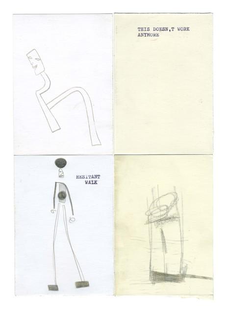 , 'μg, hesitant walk,' 2019, UNION Gallery