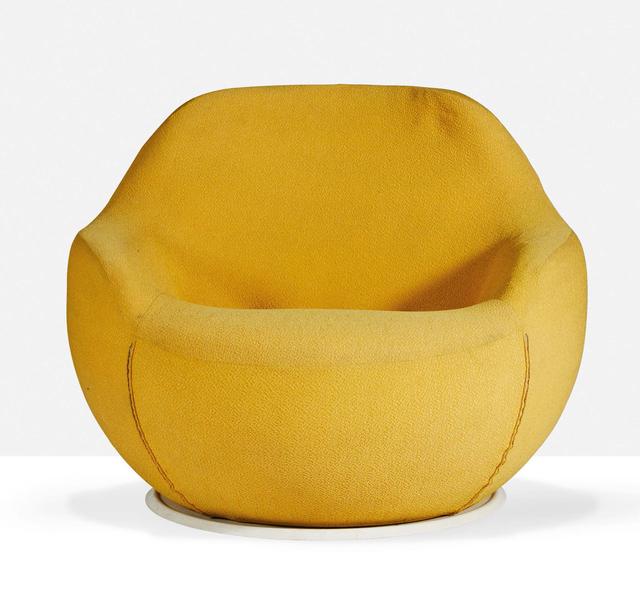 Claudio Salocchi, 'Lounge chair', 1969, Design/Decorative Art, Fabric anf form, Aguttes