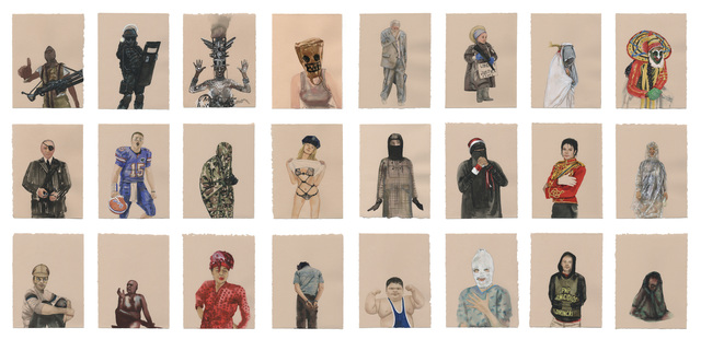 , 'Conceal Project: Set 1 ,' 2014, CYNTHIA-REEVES