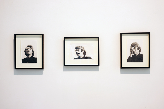 , 'Study for I'm too sad to tell you (triptych),' 1971, Simon Lee Gallery