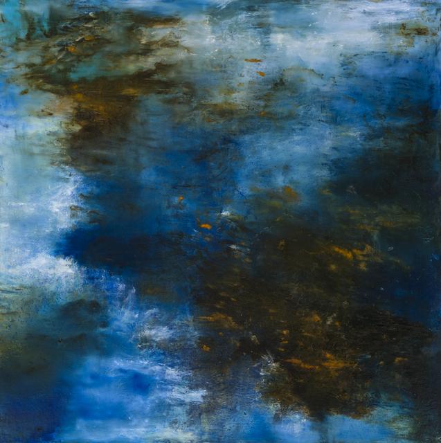 , 'Bleu Marie,' 2017, Studio 21 Fine Art