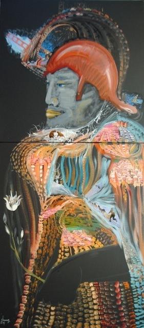 , 'Hazy Self-conquest (朦胧的自我征服),' 2014, Visionairs Gallery