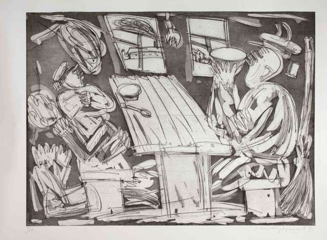 Oleg Kudryashov, 'On duty, the soldier serves. Asleep, the soldier still serves. ', 1991, SM Art