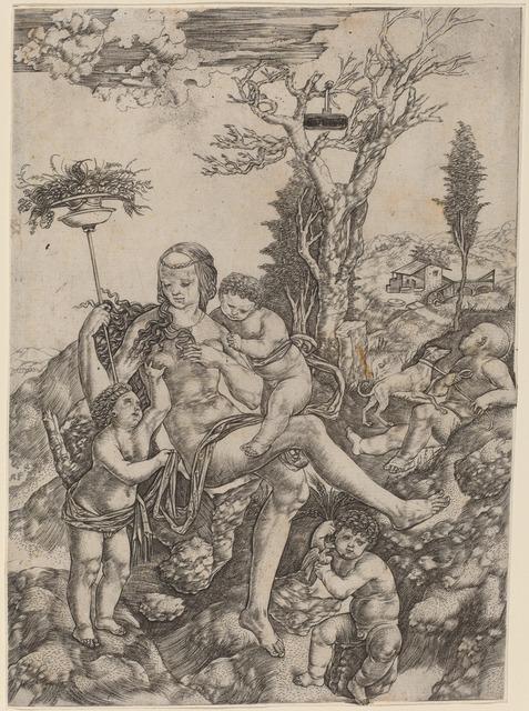 Christofano Robetta, 'Allegory of Mother Earth', National Gallery of Art, Washington, D.C.
