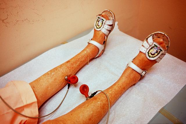 Naomi Harris, 'Pearl's Legs, Haddon Hall Hotel, Miami Beach, FL', 2000, Circuit Gallery