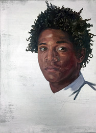 Portrait of Jean Michel Basquiat