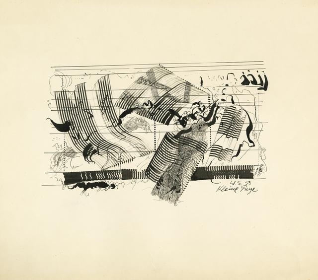 , 'Kleine Fuge (Little Fugue),' 1959, Laure Genillard