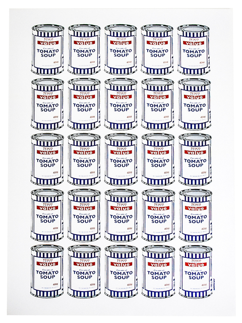 Banksy, 'SOUP CANS', 2006, Silverback Gallery