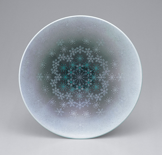 , 'Bowl with snowflake patterns,' 2012, Onishi Gallery