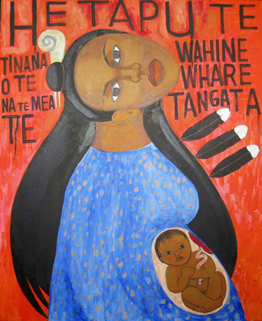 Robyn Kahukiwa, 'Te Whare Tangata ', 2018, Warwick Henderson