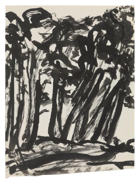 , 'Trees,' undated, New York Studio School
