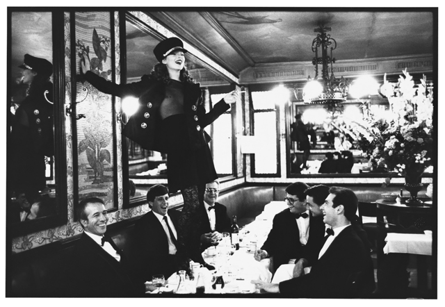 , 'Kate Moss at Cafe Lipp, Paris, VOGUE Italia,' 1993, Staley-Wise Gallery