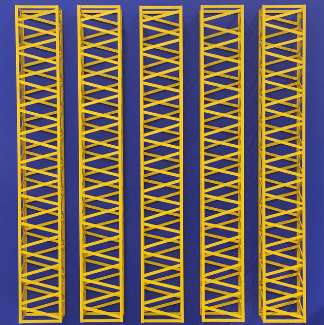 , 'Neela Peela (Blue Yellow),' 1970, Aicon Gallery