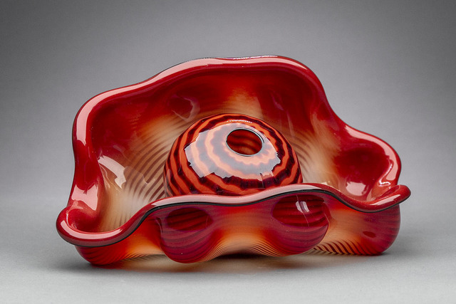 Dale Chihuly, 'Chinese Red Seaform Pair', 1995, Modern Artifact