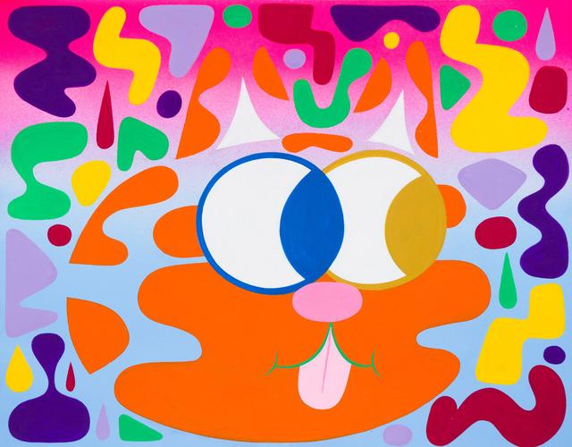 , 'Orange Blendy Cat,' 2014, Fleisher/Ollman
