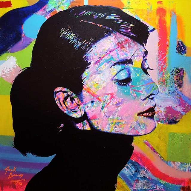 Jack Graves III, 'Audrey Hepburn Icon V', 2019, Graves International Art